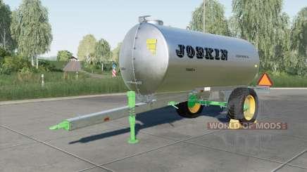 Joskin AquaTrans 7300 S para Farming Simulator 2017