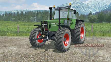 Fendt Favorit 615 LSA Turbomatik full lighting para Farming Simulator 2013