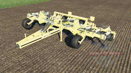 Agrisem Cultiplow Platinum work speed 25 km-h para Farming Simulator 2017
