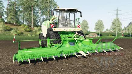 Krone BiG X 1180 wheel color changed para Farming Simulator 2017