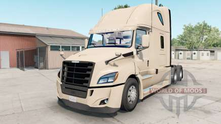 Freightliner Cascadia almond para American Truck Simulator