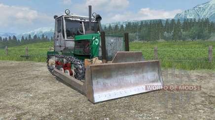 T-150 con una cuchilla para Farming Simulator 2013