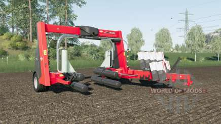 Kuhn SW 4014 increased wrapping speed para Farming Simulator 2017