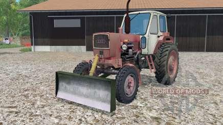YUMZ-6 con una cuchilla para Farming Simulator 2015
