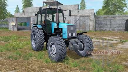 MTZ-1221 Belarús tractor, luces de trabajo para Farming Simulator 2017