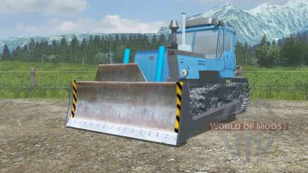 T-150-09 con una cuchilla para Farming Simulator 2013