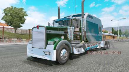 Kenworth W900L county green para Euro Truck Simulator 2