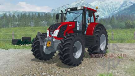 Valtra N163 with additional sets of tires para Farming Simulator 2013