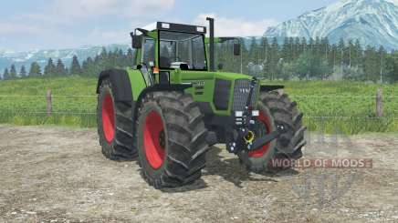 Fendt Favorit 824 Turboshift real exhaust smoke para Farming Simulator 2013