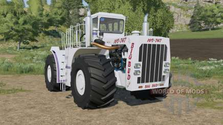 Big Bud 16V-747 wheels configuration para Farming Simulator 2017