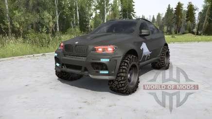 BMW X6 M (E71) BORZ v2.0 para MudRunner