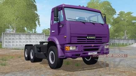 KamAZ-65116 con vuelco del remolque para Farming Simulator 2017