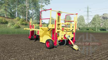 Damcon PL-75 sixty tree saplings pallets para Farming Simulator 2017