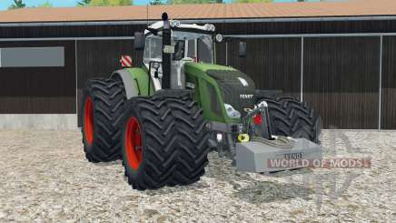 Fendt 828 Vario moveable rear attacher para Farming Simulator 2015
