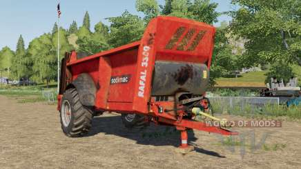 Sodimac Rafal 3300 design selection para Farming Simulator 2017