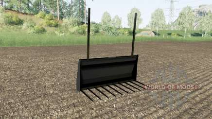Bale tenedor Stoll para Farming Simulator 2017