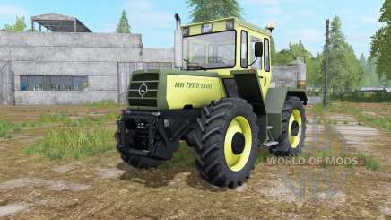 Mercedes-Benz Trac 1000 glade green para Farming Simulator 2017