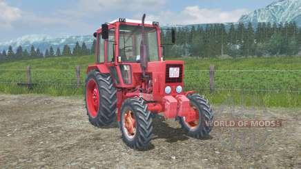 MTZ-82 Belarús piezas animadas para Farming Simulator 2013