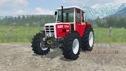 Steyr 8080 Turbo MoreRealistic para Farming Simulator 2013