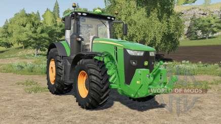 John Deere 8R-series multicolor rims para Farming Simulator 2017