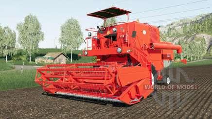 Bizon Super Z056 improved wheel para Farming Simulator 2017