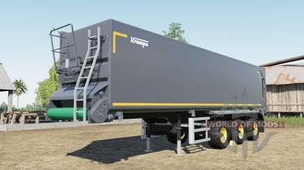 Krampe SB II 30-1070 capacity 150.000 liters para Farming Simulator 2017