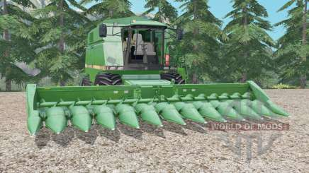 John Deere 2056 medium sea green para Farming Simulator 2015