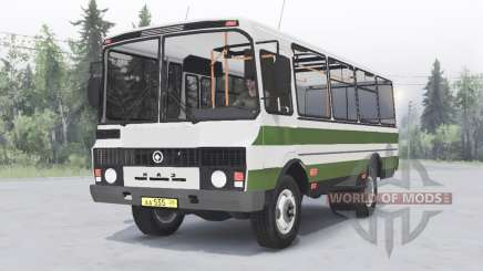 PAZ-3205 v1.2 verde para Spin Tires