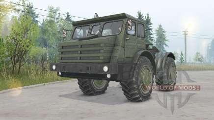 MoAZ-74111 4x4 para Spin Tires