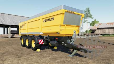 Joskin Trans-Space 8000-27 TRC150 color choice para Farming Simulator 2017