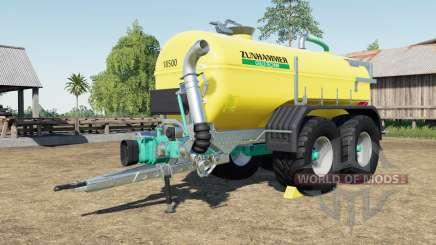 Zunhammer SKE 18.5 PUD with more tire configs para Farming Simulator 2017