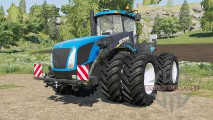 New Holland T9-series engine options para Farming Simulator 2017