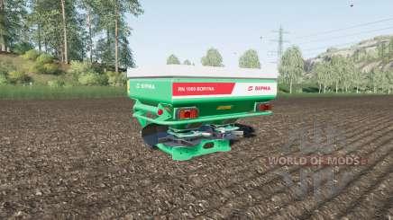 Sipma RN 1000 Boryna para Farming Simulator 2017