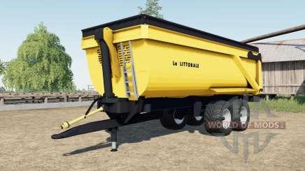 La Littorale C 240 para Farming Simulator 2017