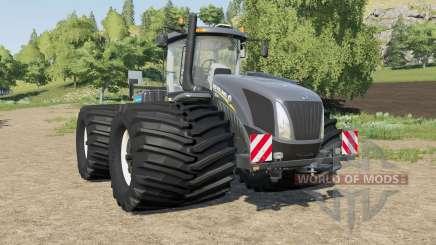 New Holland T9-series wheel options para Farming Simulator 2017