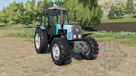 MTZ-1221 Belarús opciones de diseño para Farming Simulator 2017