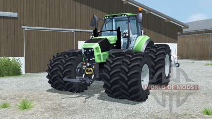 Deutz-Fahr 7250 TTV Agrotron dual wheels para Farming Simulator 2013