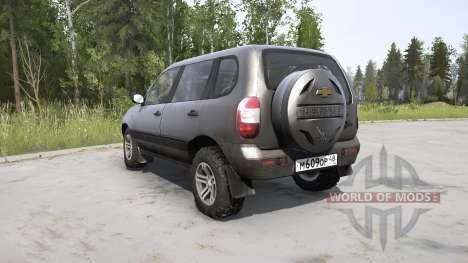 Chevrolet Niva para Spintires MudRunner