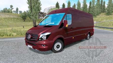 Mercedes-Benz Sprinter para Euro Truck Simulator 2