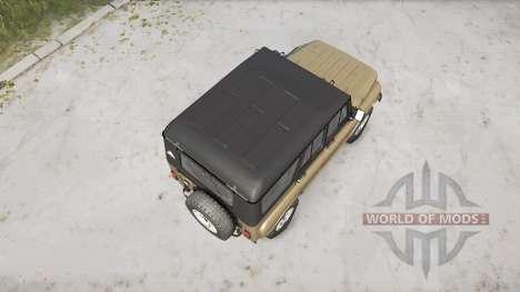 El UAZ-3151 para Spintires MudRunner