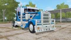 Kenworth W900L ocean boat blue para Farming Simulator 2017