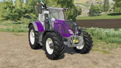 Fendt 700 Vario new light effects para Farming Simulator 2017
