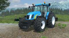 New Holland TL100A vivid cerulean para Farming Simulator 2013