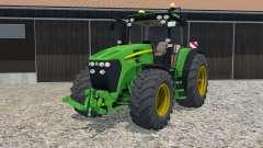 John Deere 7930 hand animation para Farming Simulator 2015