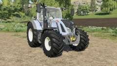 Fendt 700 Vario different tire configuration para Farming Simulator 2017