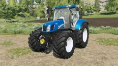 New Holland T6-series Michelin tyres para Farming Simulator 2017