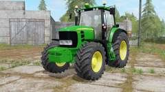 John Deere 7430 Premium darker dynamic smoke para Farming Simulator 2017