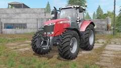 Massey Ferguson 7700 interactive control para Farming Simulator 2017
