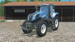 New Holland T8.320 single row wheels para Farming Simulator 2015