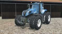 New Holland T8.320 narrow twin wheels para Farming Simulator 2015